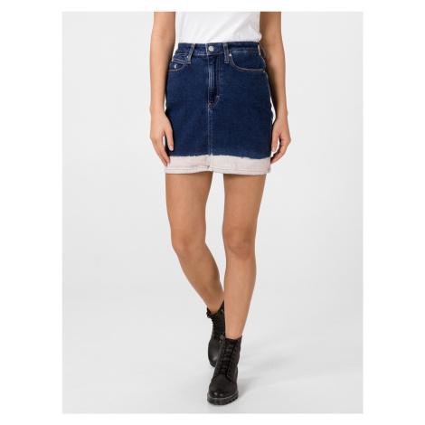 Rifľové sukne Calvin Klein