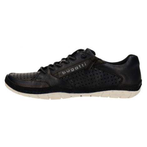 bugatti Športové šnurovacie topánky  tmavomodrá
