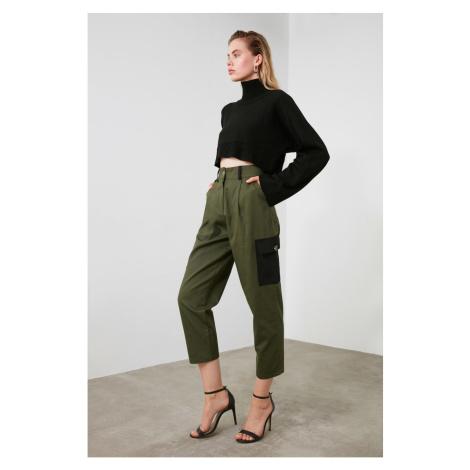 Trendyol Khaki Pocket Detailed Pants
