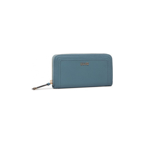 Liu Jo Veľká dámska peňaženka Xl Zip Around AF0070 E0058 Modrá