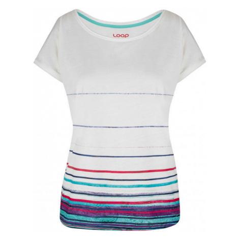 Loap ALBY biela - Dámske tričko