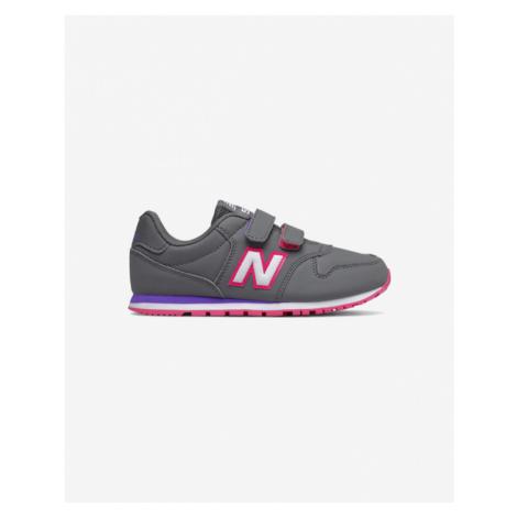 New Balance 500 Tenisky dětské Šedá