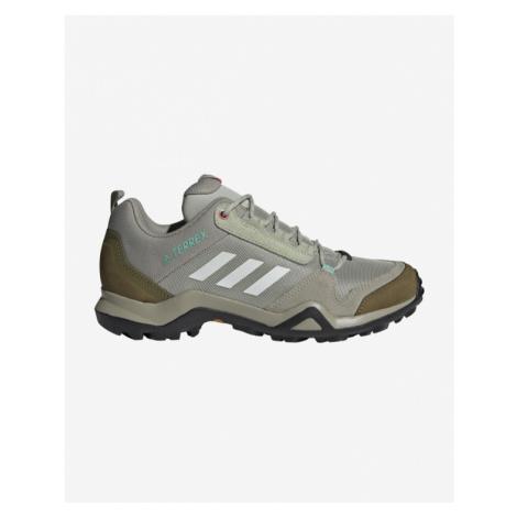 adidas Performance Terrex Ax3 Blue Outdoor obuv Zelená