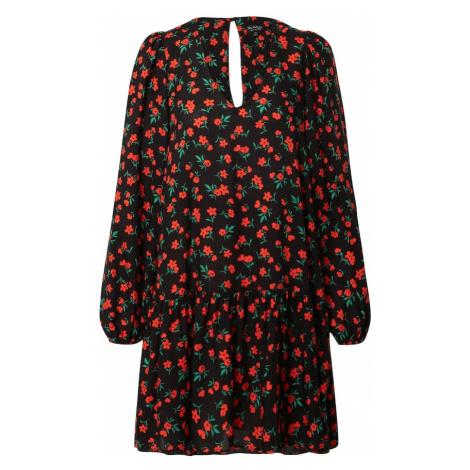 Miss Selfridge Šaty  červená / čierna / zelená