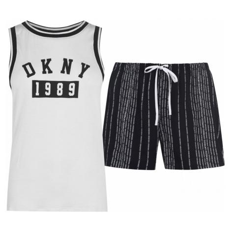 DKNY Logo Tank Pyjama Set