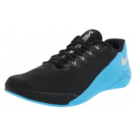 NIKE Športová obuv 'NIKE METCON 5'  vodová / čierna