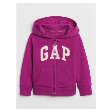 GAP fialové dievčenská mikina