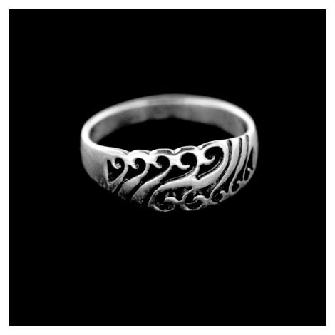 Strieborný prsteň 14997