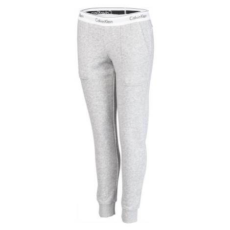 Calvin Klein BOTTOM PANT JOGGER šedá - Dámske tepláky