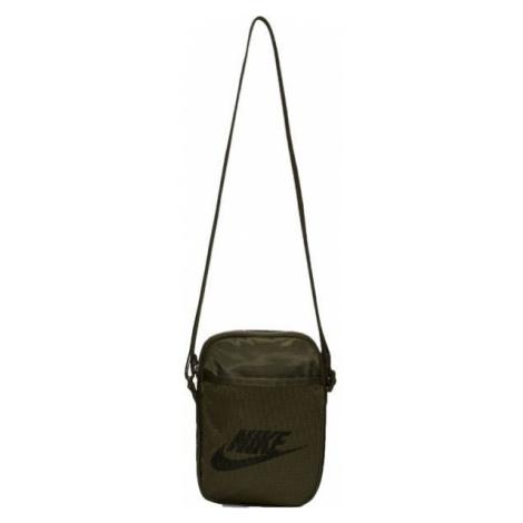 Nike HERITAGE tmavo zelená - Taška cez rameno