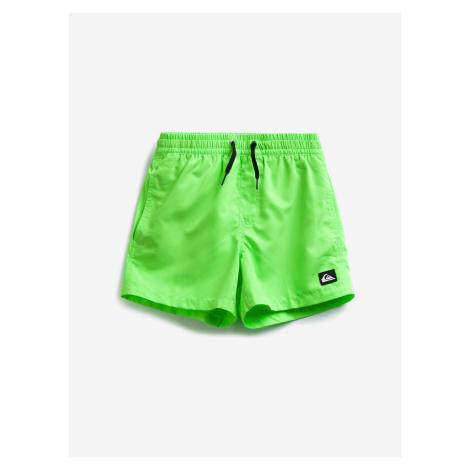 Plavky dětské Quiksilver Zelená
