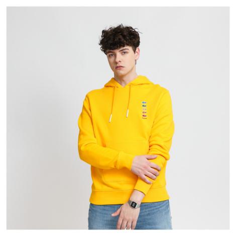 LACOSTE Lacoste x Polaroid Cotton Fleece Sweatshirt žltá