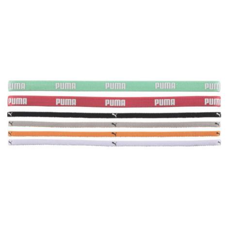 Puma AT Sportbands (6pcs) šedá - Set gumičiek