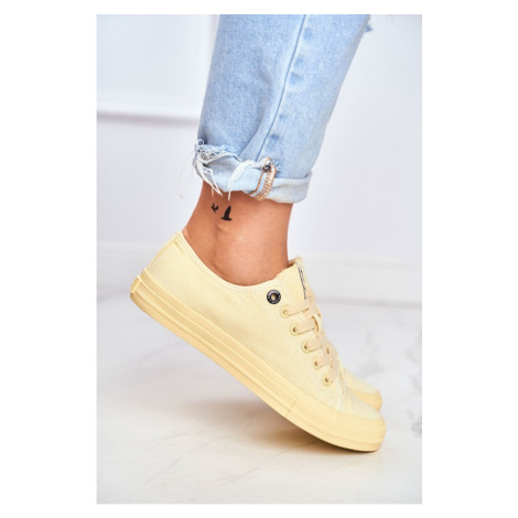 Women's Sneakers Big Star DD274441 Yellow