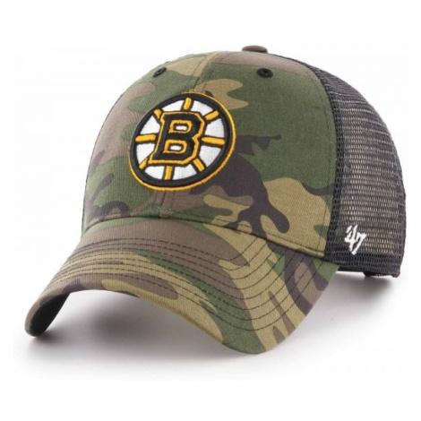 47 NHL BOSTON BRUINS CAMO BRANSON 47 MVP šedá - Šiltovka