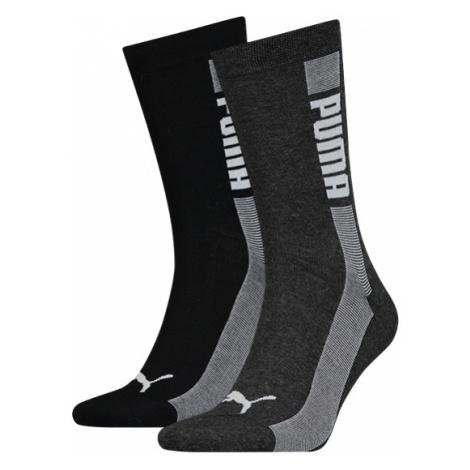 Puma SOCK 2P UNISEX čierna - Ponožky