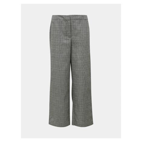 Šedé kockované nohavice Jacqueline de Yong Tara