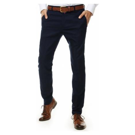 Elegantné granátové nohavice DStreet