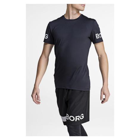Pánske čierne tričko Tee Borg Bjorn Borg