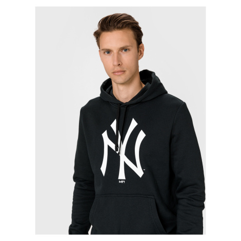 New York Yankees Team Logo Mikina New Era Čierna