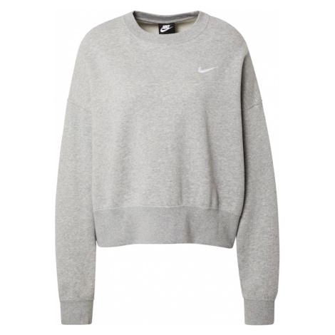 Nike Sportswear Mikina 'Essentials'  sivá melírovaná