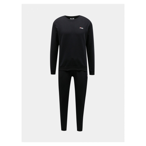 Čierne pánske pyžamo FILA