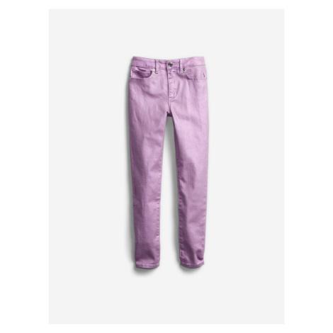 Kalhoty dětské GAP Fialová