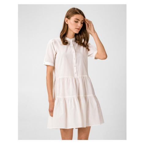 Vero Moda Delta Šaty Biela