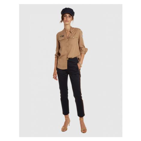 Nohavice La Martina Woman Trousers Stretch Satin