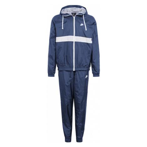 Nike Sportswear Tréningový komplet 'NSW'  biela / tmavomodrá