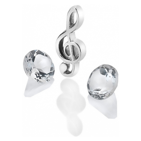 Hot Diamonds Element husľový kľúč s TOPAZ Anais AC122