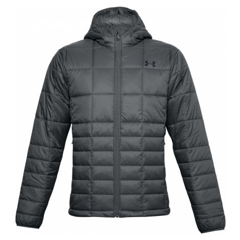 UA Armour Insulated Hooded Jkt-GRY Under Armour