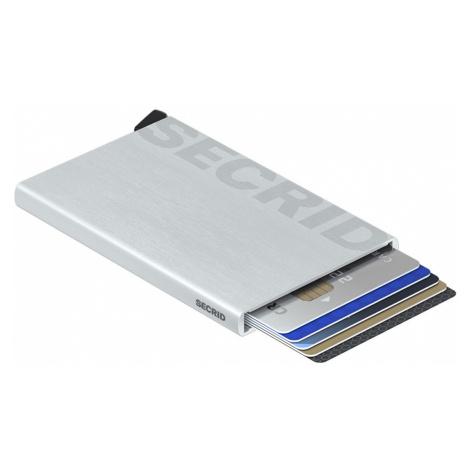 Secrid Cardprotector Laser Logo Brushed silver-One size šedé CLa-Logo-brushed-Silver-One-size