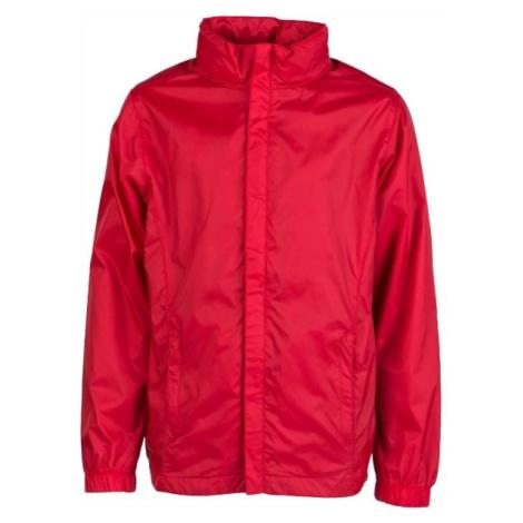 Kensis WINDY JR červená - Chlapčenská šuštiaková bunda