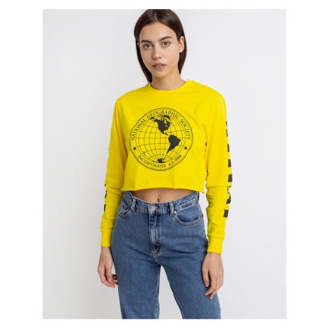 Vans LS Crop (National Geographic) Cyber Yellow