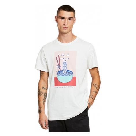 Dedicated T-shirt Stockholm Noodle Off-White-XL biele 18238-XL