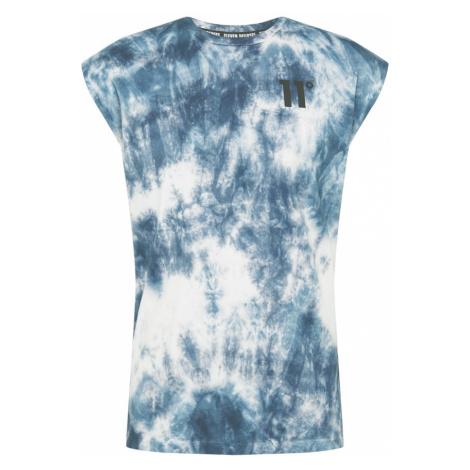 11 Degrees Tričko  biela / modrá