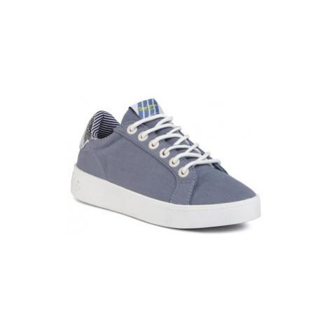 Pepe Jeans Sneakersy Brixton Fun PLS30967 Modrá