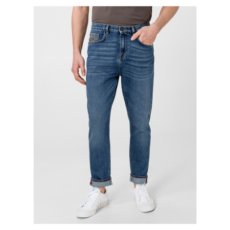 Baggy Jeans Trussardi Jeans Modrá