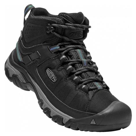 Outdoorové boty pánské KEEN TARGHEE EXP MID WP M black/steel grey