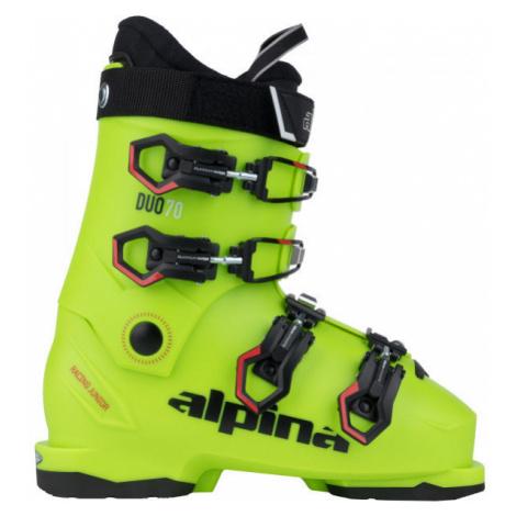Alpina DUO 70 - Juniorská obuv na zjazdové lyžovanie
