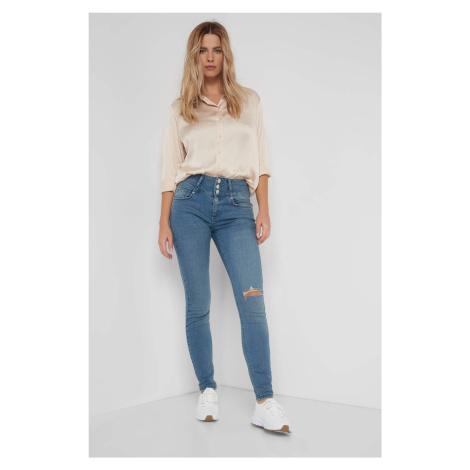Džínsy skinny s vysokým pásom Orsay