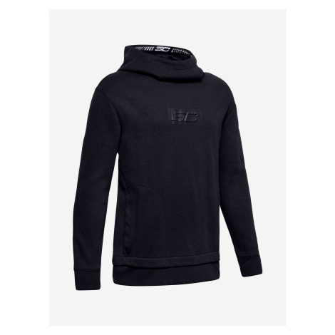 Mikina Under Armour Sc30 Lifestyle Warm Up Top-Blk Čierna