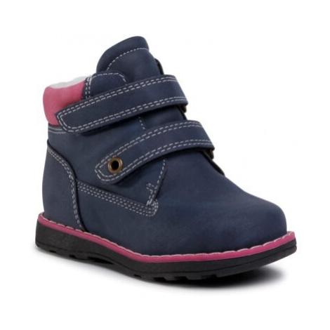 Šnurovacia obuv Nelli Blu CM2029-40(II)DZ Ekologická koža/-Ekologická koža