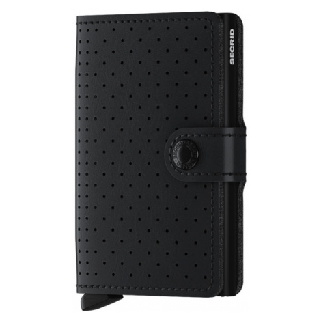 Secrid Miniwallet Perforated Black-One size čierne MPF-Black-One size