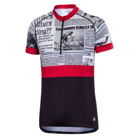Klimatex BAREX vínová - Pánsky cyklistický dres