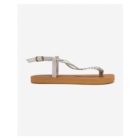 O'Neill Sandále Hnedá Strieborná