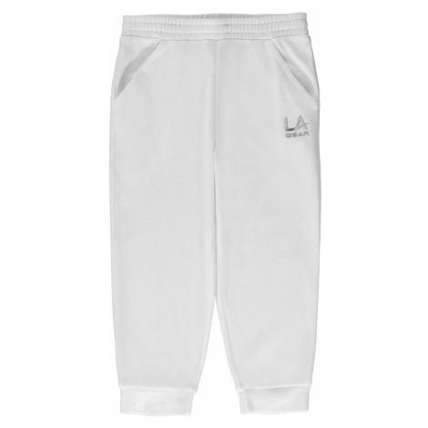 LA Gear three quarter Interlocked Pants Junior Girls