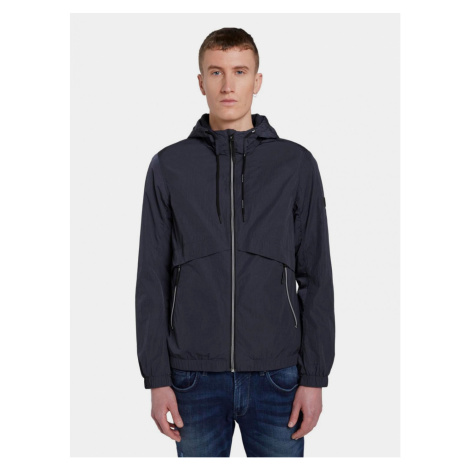 Tom Tailor Denim Dark Blue Men's Water-Repellent Jacket