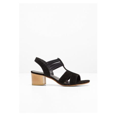 Kožené sandále bonprix